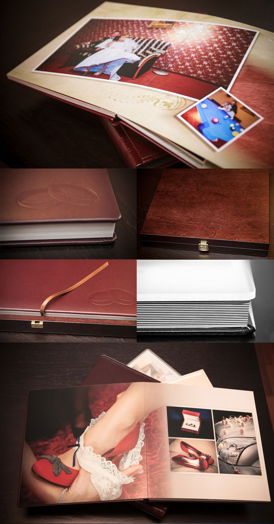 fotokiążki ślubne fotopracownia krzysztof krawczyk